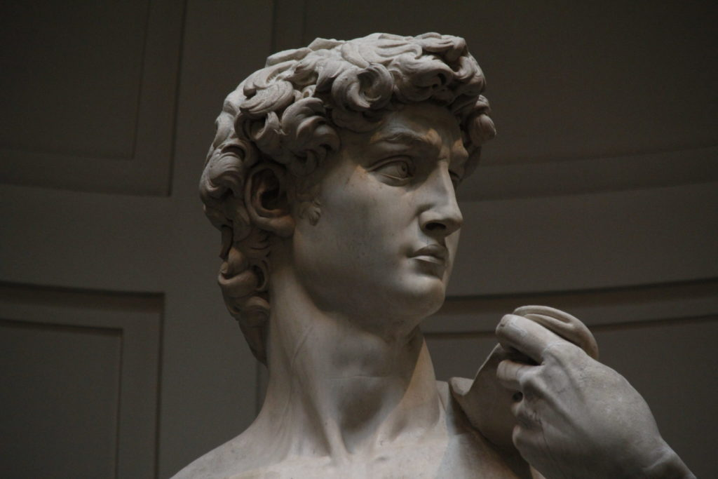 David, Michelangelo, Florenz