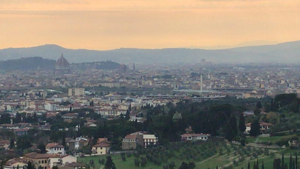 Firenze, Ausblick, Blick, Sonnenuntergang