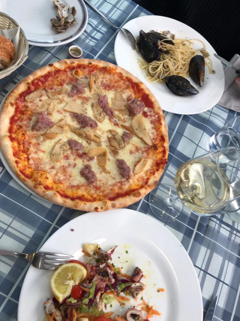 Italien, Essen, Pizza, Pasta, Wein, Venice
