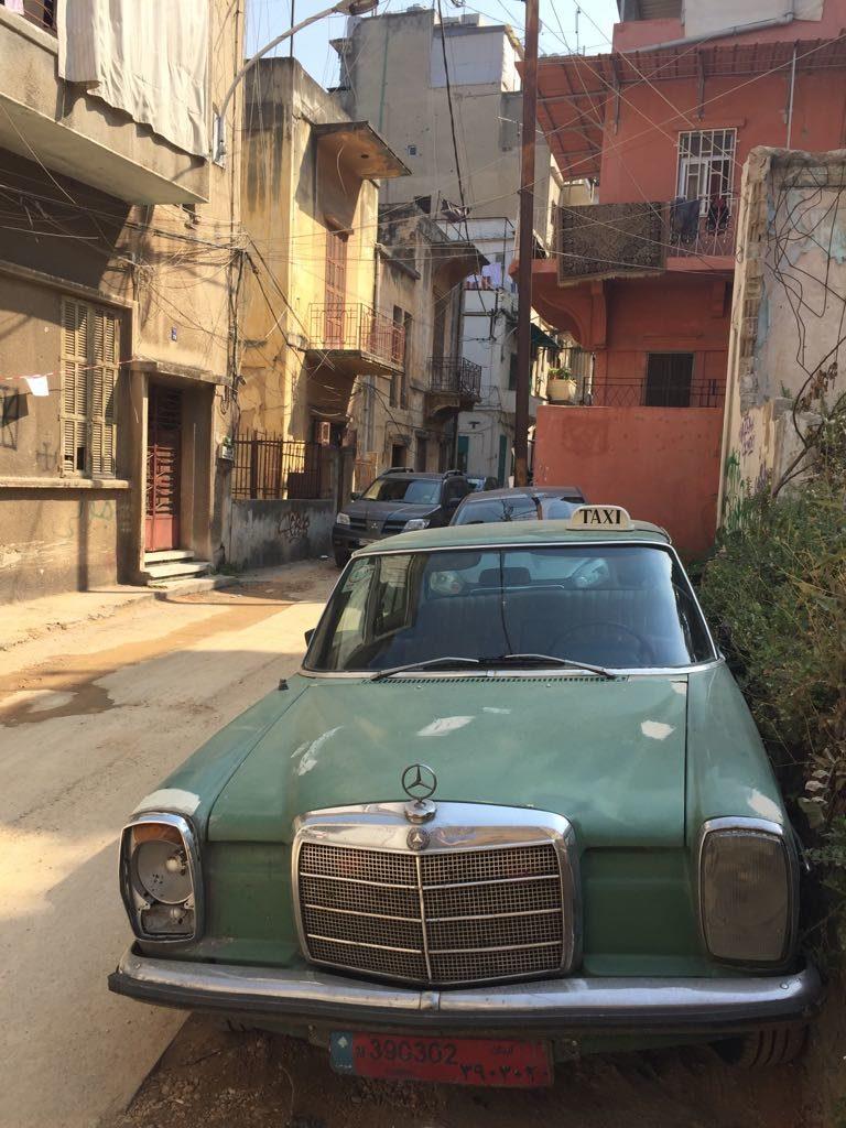 Beirut, Libanon, Oldtimer, Mercedes