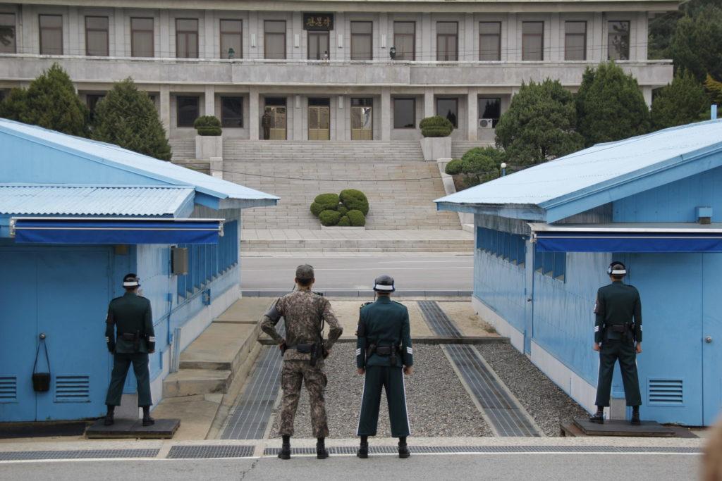 Grenze zwischen Süd- und Nord-Korea, DMZ