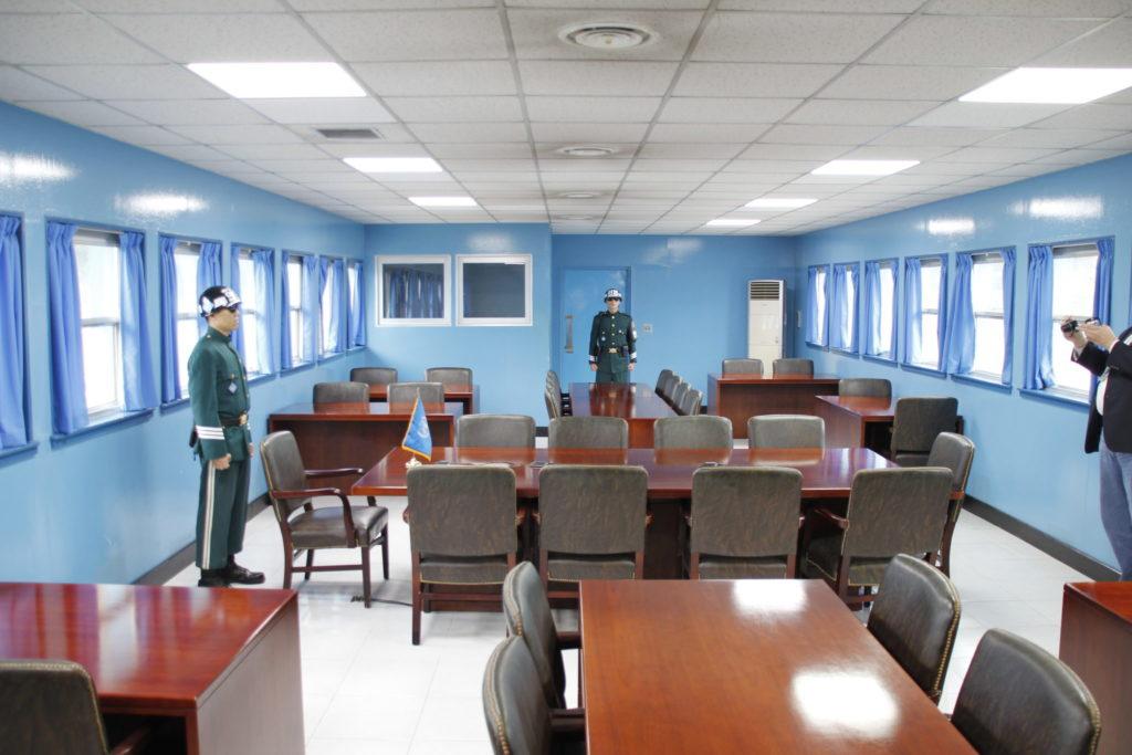 Nord- und Süd-Korea, Grenze, DMZ