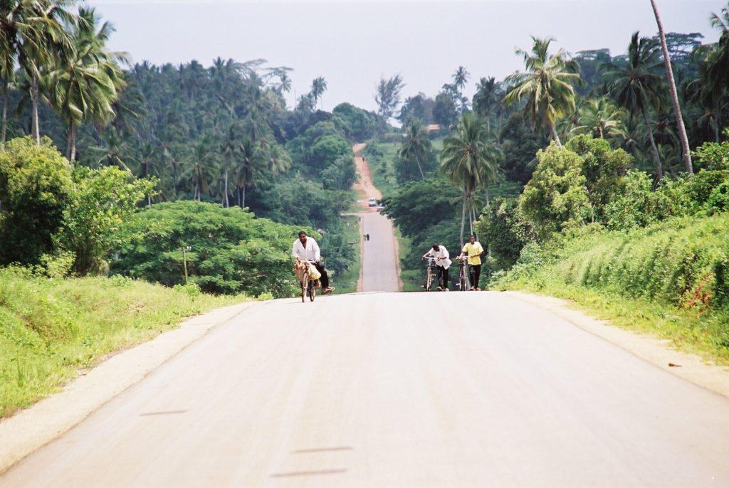 Zanzibar, Tanzania, Strasse