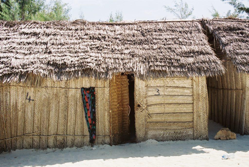 Zanzibar, Tanzania, Strand, Kendwa Rocks, Hütte, Beach Hut