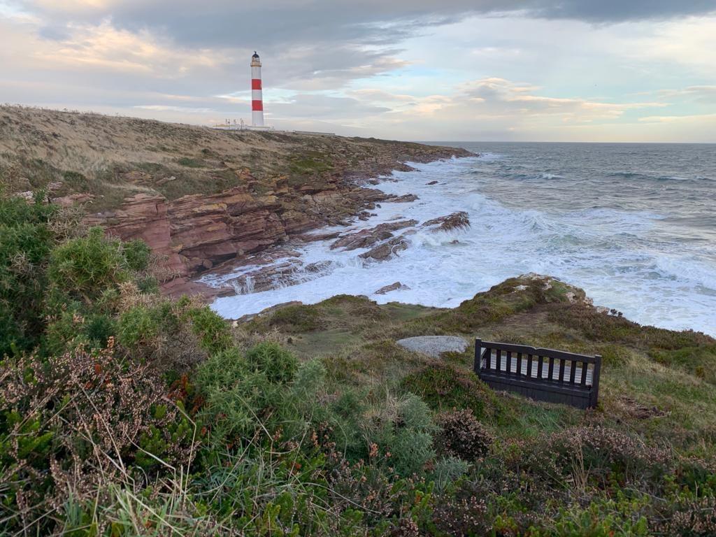 Schottland, Küste, Leuchtturm
