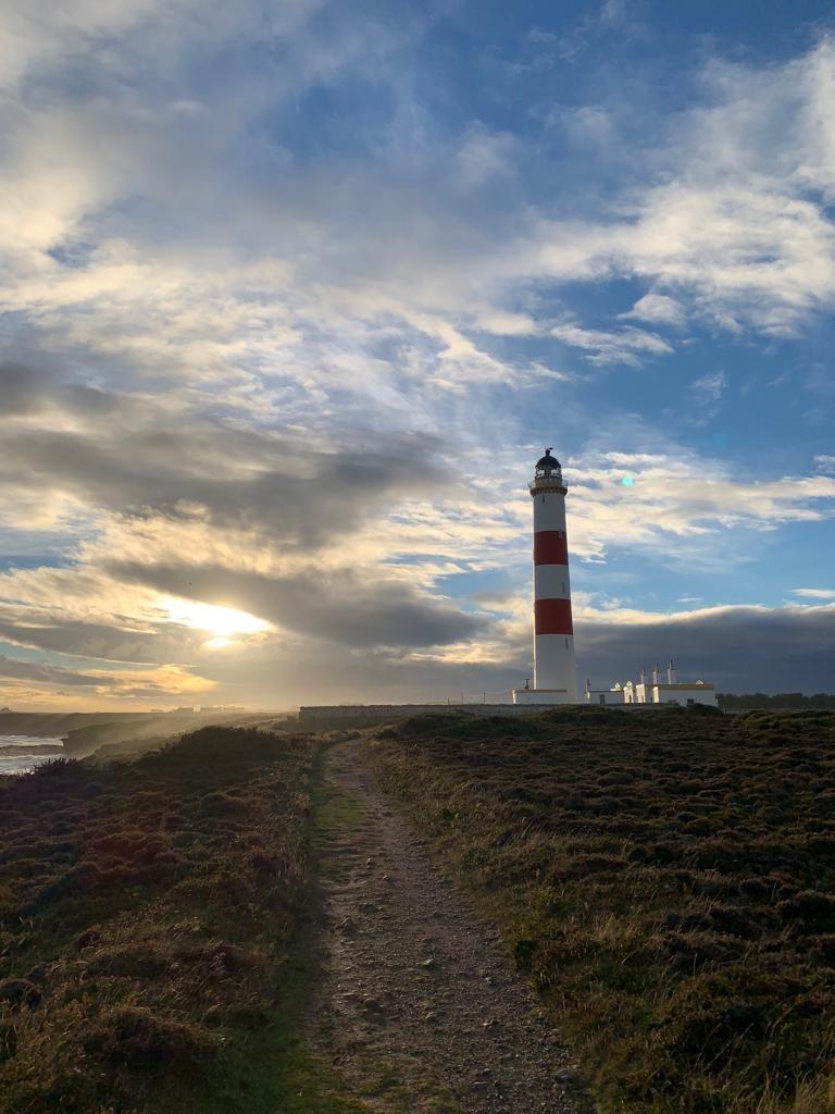 Leuchtturm, Schottland, Küste