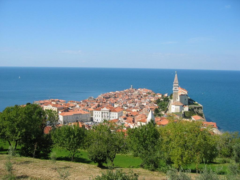 Piran, Slowenien, Reise, Europa, Adria