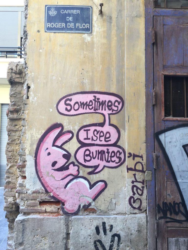 Streetrt, Valencia, Spanien