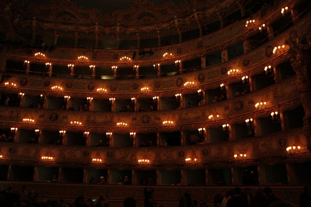 Das Theater La Fenice in Venice, Italien, Italy