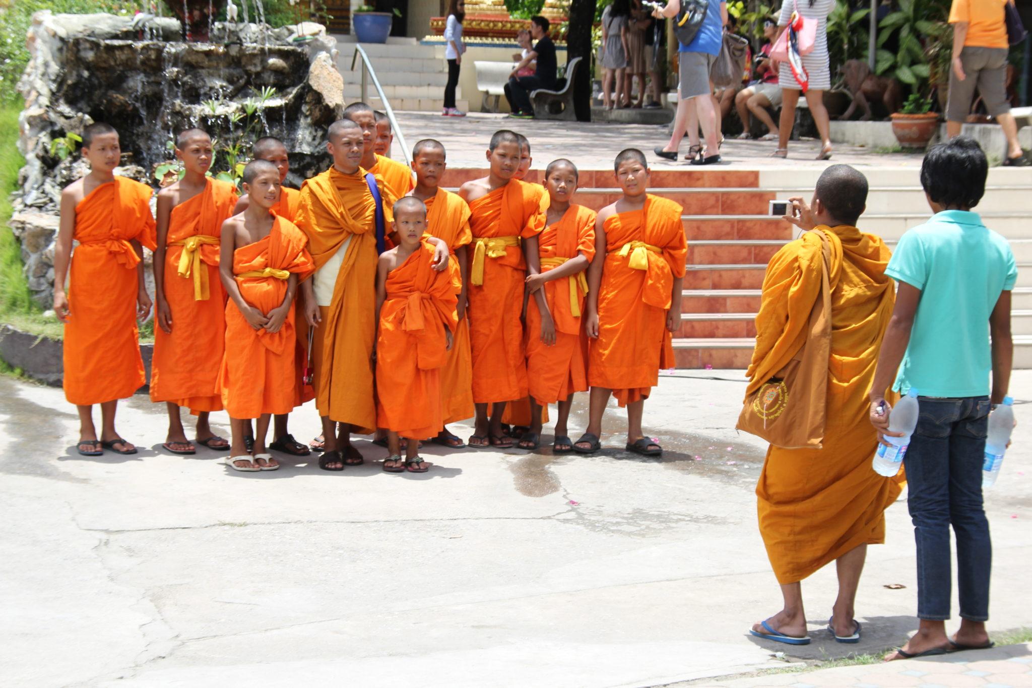 Bangkok, Thailand, Mönche, Buddhismus