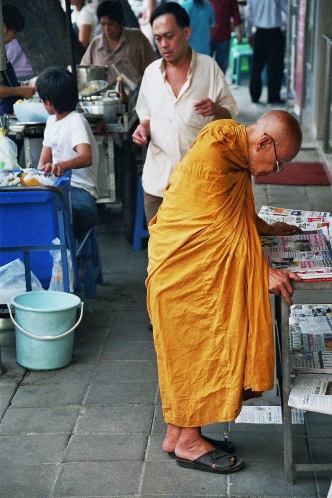 Bangkok, Thailand, Buddhismus, Mönch