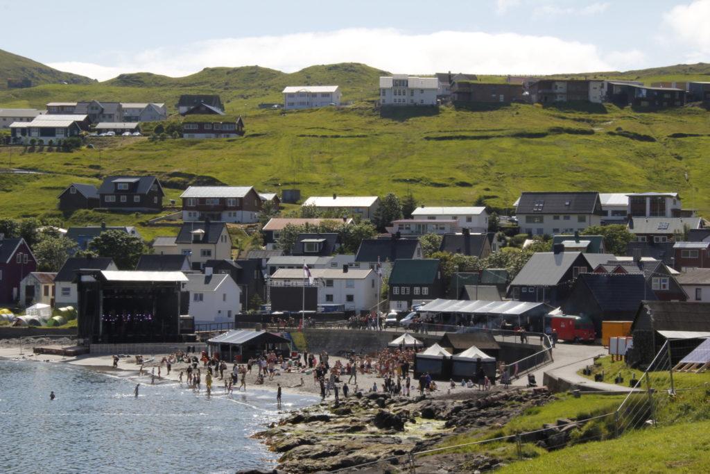 G!-Festival, Färöer Inseln, Strand