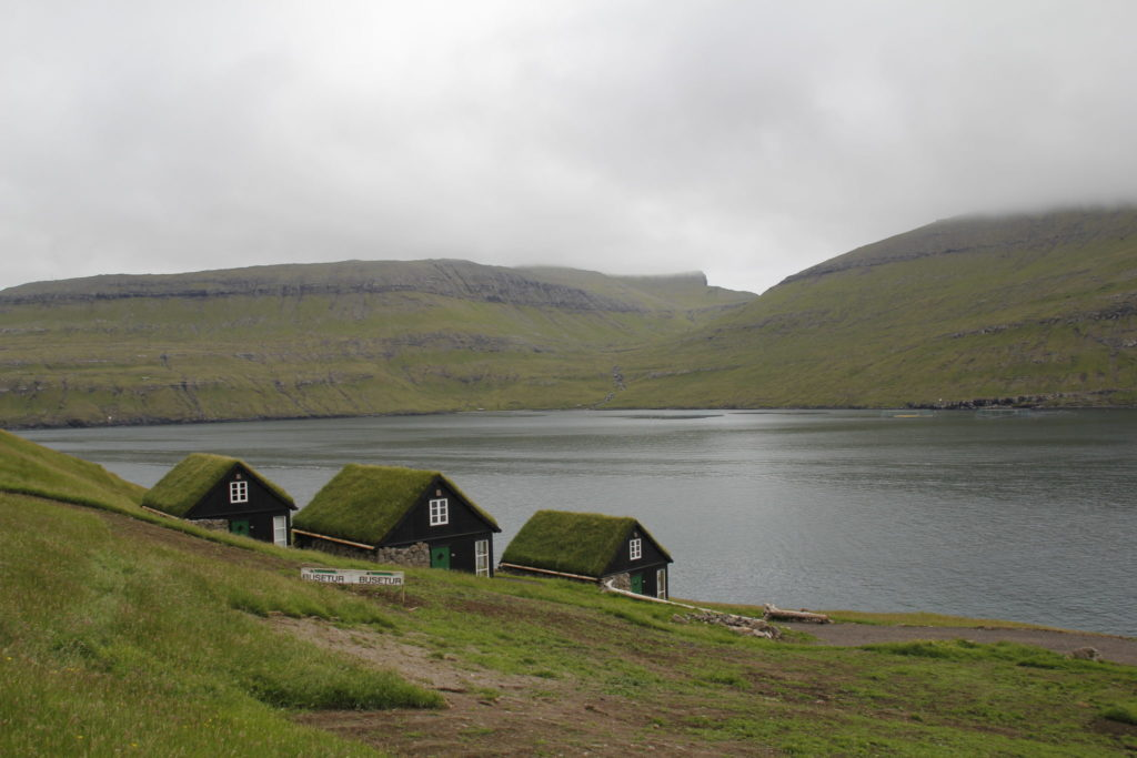 Färöer Inseln, Grasdach
