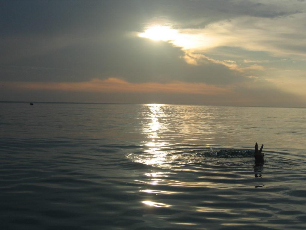 Jamaika, Karibik, Strand, Schwimmen