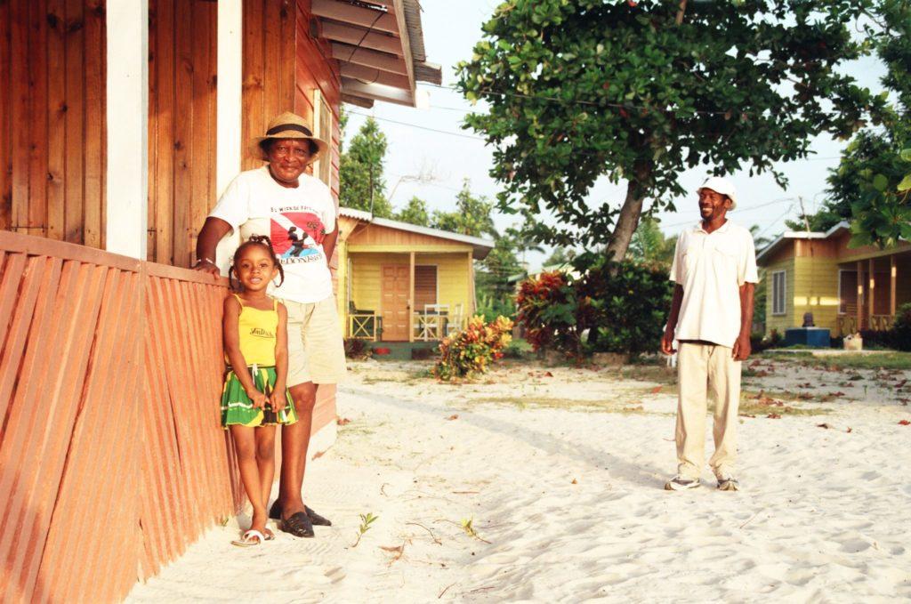 Jamaika, Karibik, Strand, Menschen
