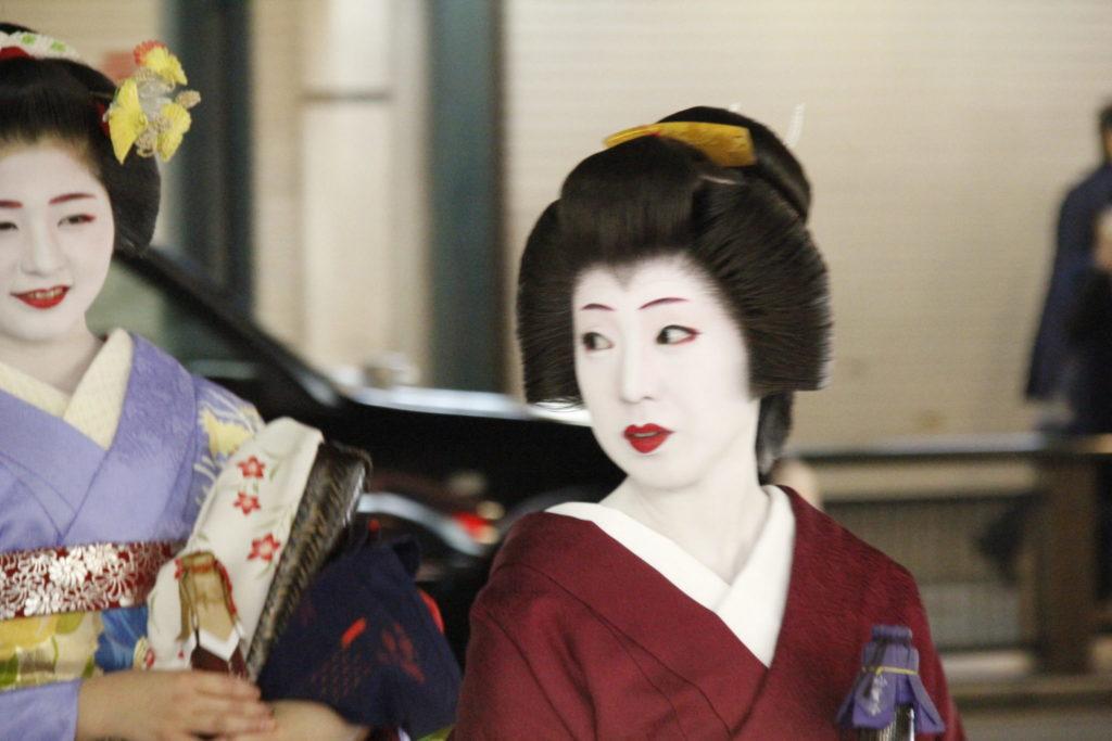 Geisha, Gion, Kyoto, Japan