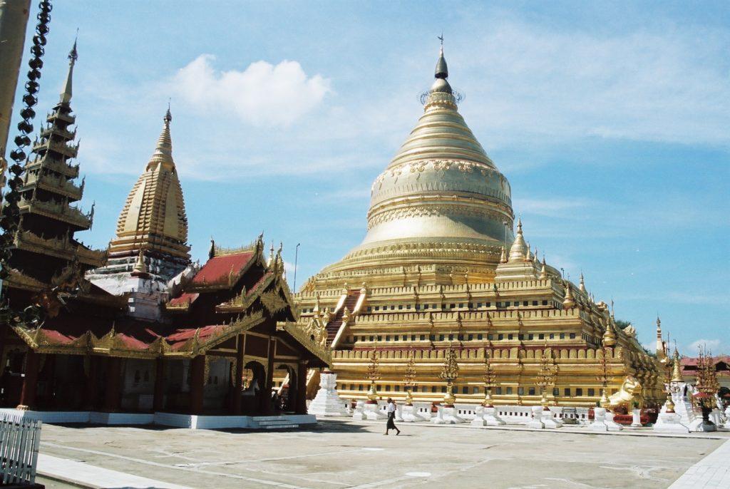 Shwedagon Paya, Yangon, Rangun, Myanmar, Birma, Burma, Tempel