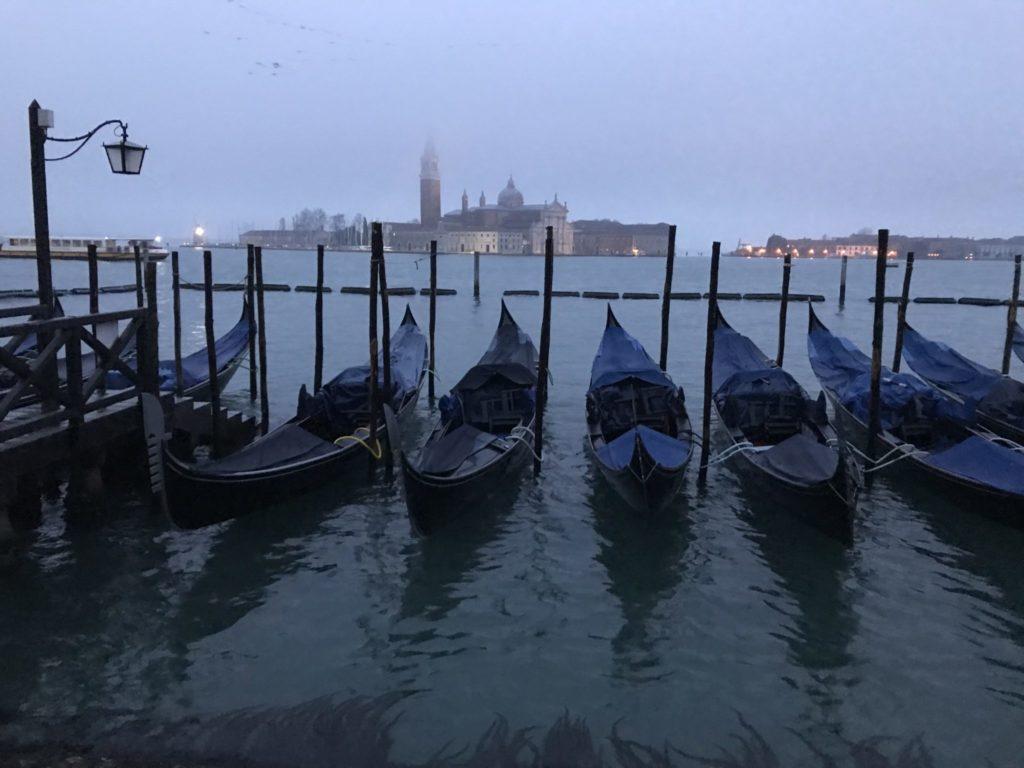 Venedig, Wasser, Winter, Kanal, Italien