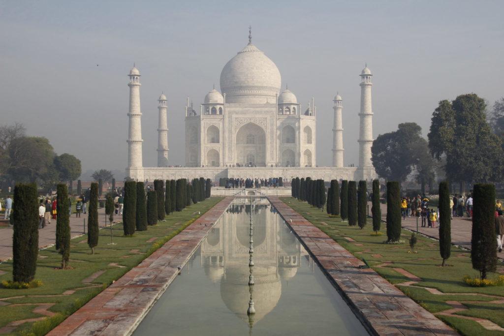 Taj Mahal, classiv view, best view, bester Blick
