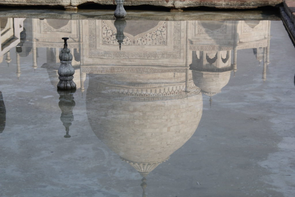 Taj Mahal, Spiegelung, reflection, India, Agra, garden, Garten