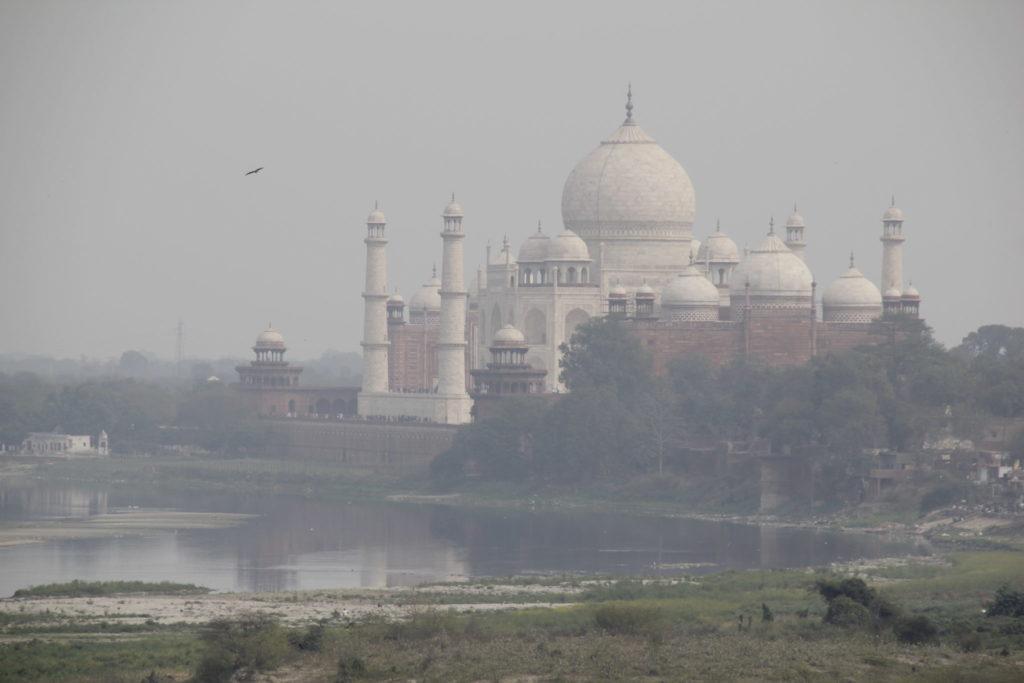 Taj Mahal, View, Blick, Agra Fort, River, Fluss, Yamuna