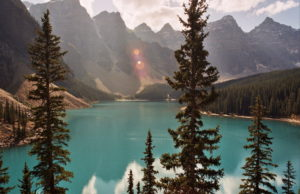 Moraine Lake, Banff, Kanada, Canada, Nationalpark, Rocky Mountains, Reise, Roadtrip