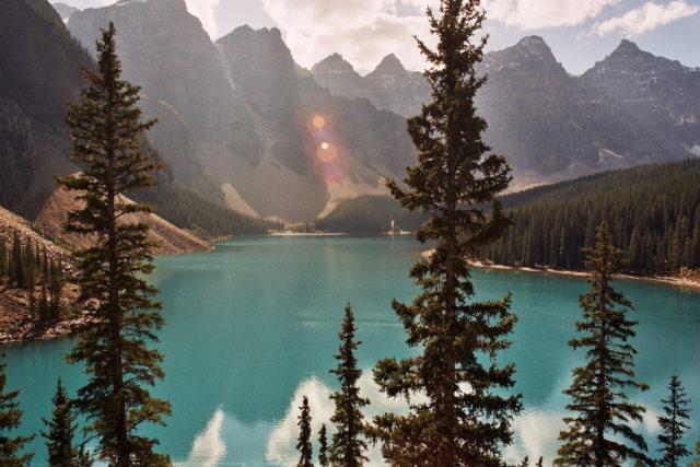Moraine Lake, Banff, Kanada, Canada, Nationalpark, Rocky Mountains, Reise, Roadtrip