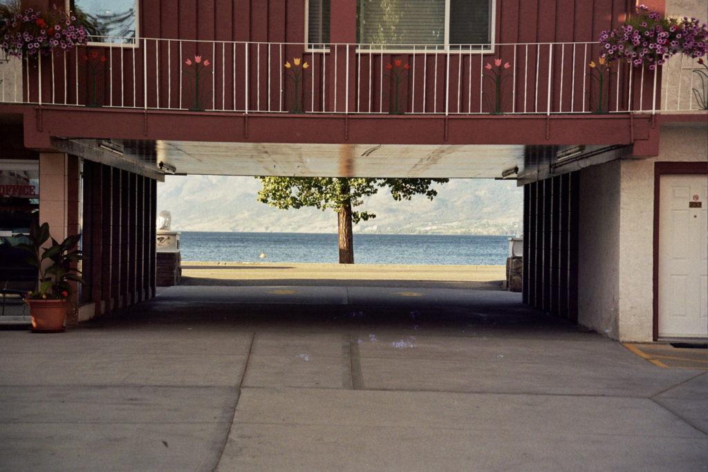 Motel, Okanagan Valley, Kanada, Canada, Roadtrip, Rundreise, Strand, Beach