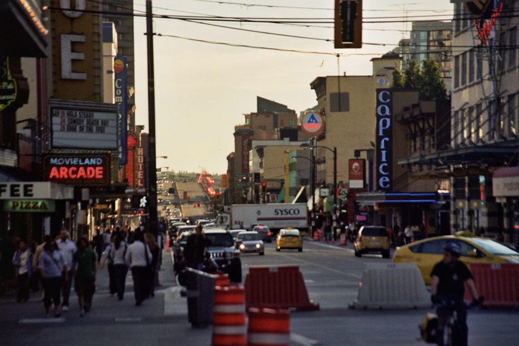 Vancouver, Stadtleben, city life, Kanada, Canada, crossing, Kreuzung, Rundreise, Roadtrip