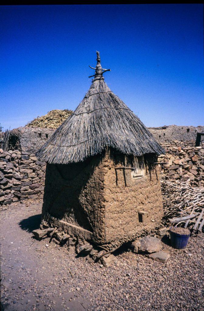 Getreidespeicher der Dogon, Mali