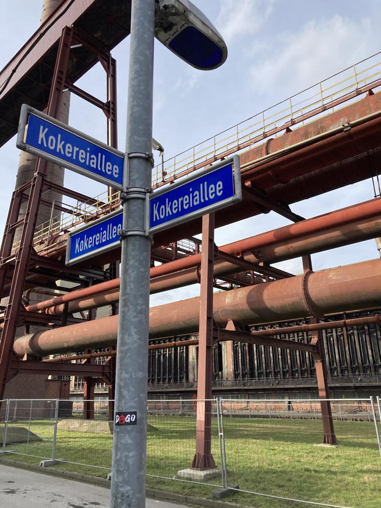 Zeche und Kokerei Zollverein in Essen Nordrhein-Westfalen