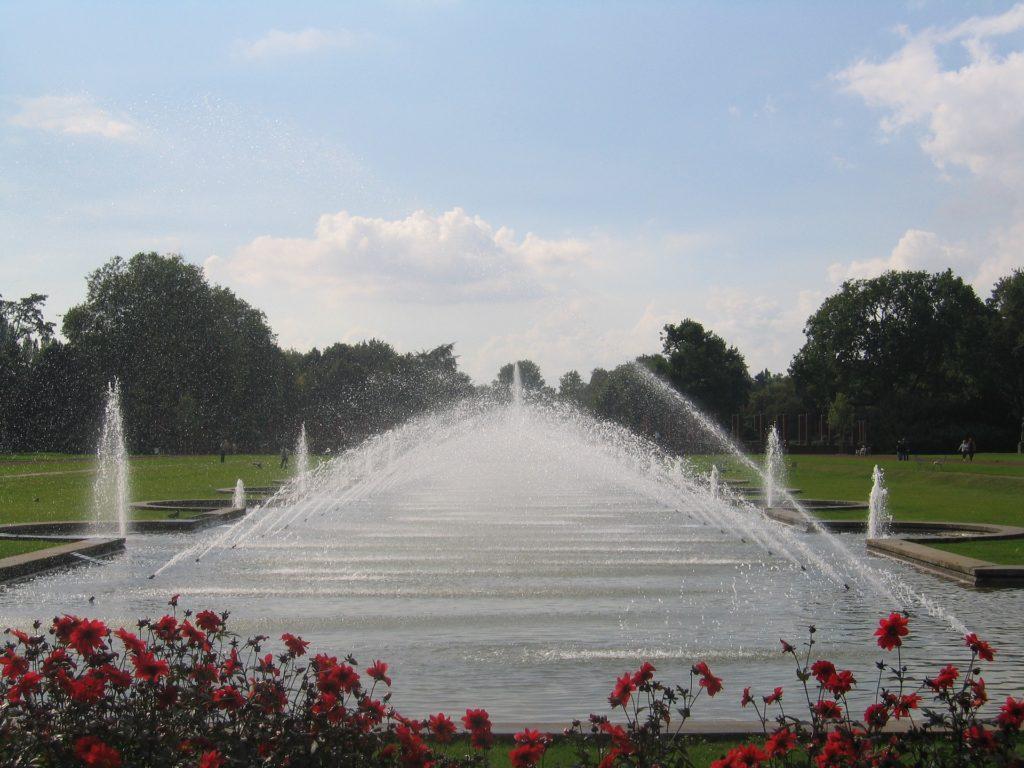 Nordpark Düsseldorf Nordrhein-Westfalen