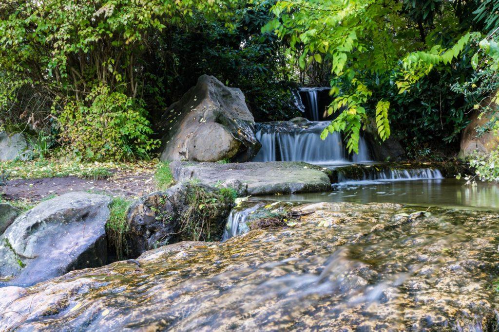 Japanischer Garten Nordpark Düsseldorf Nordrhein-Westfalen